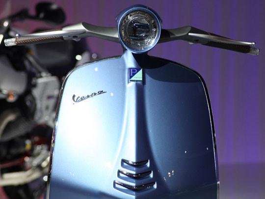 Новая модель мотороллера марки Vespa. Изображение № 6.