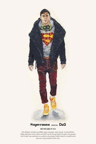 Художник Джон Ву продолжил серию модных иллюстраций с героями кино. Изображение № 1.