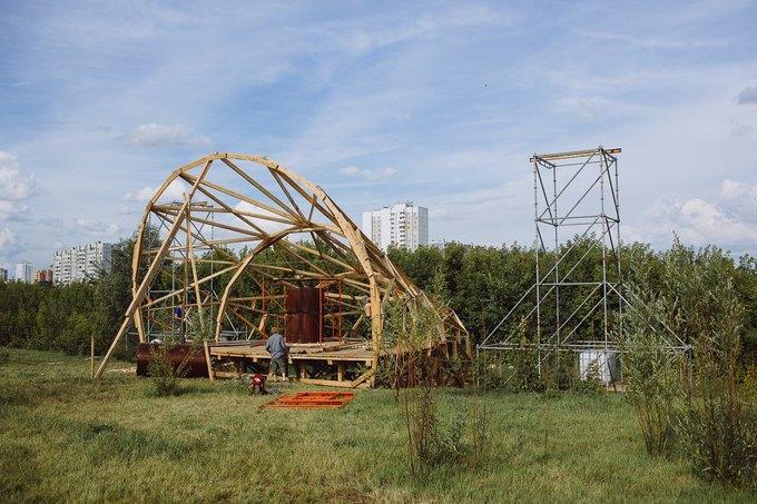Фоторепортаж: Строительство объектов фестиваля Outline. Изображение № 5.