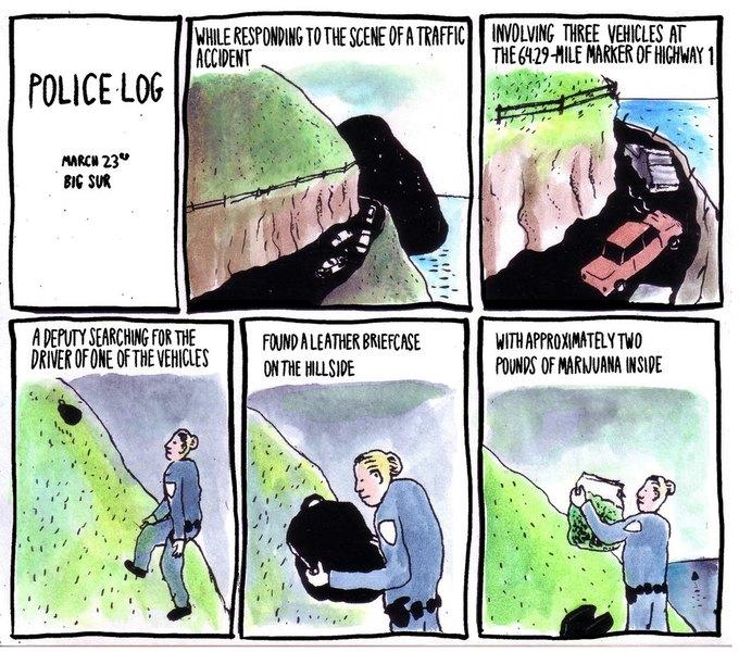 Police Log Comics: Абсурдные полицейские сводки в формате комиксов. Изображение № 18.