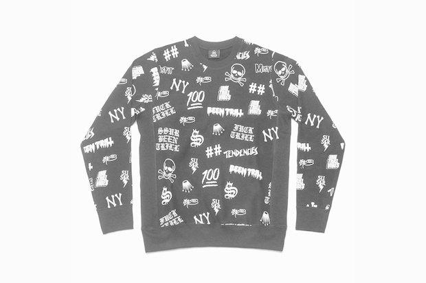 Марка SSUR и коллектив дизайнеров Been Trill выпустили новую коллекцию одежды Allover. Изображение № 1.