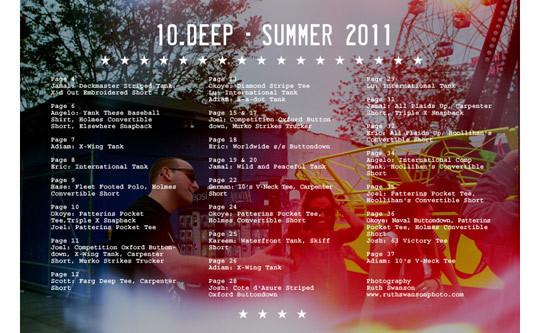 Изображение 41. Лукбук коллекции 10.Deep SS 2011.. Изображение № 41.