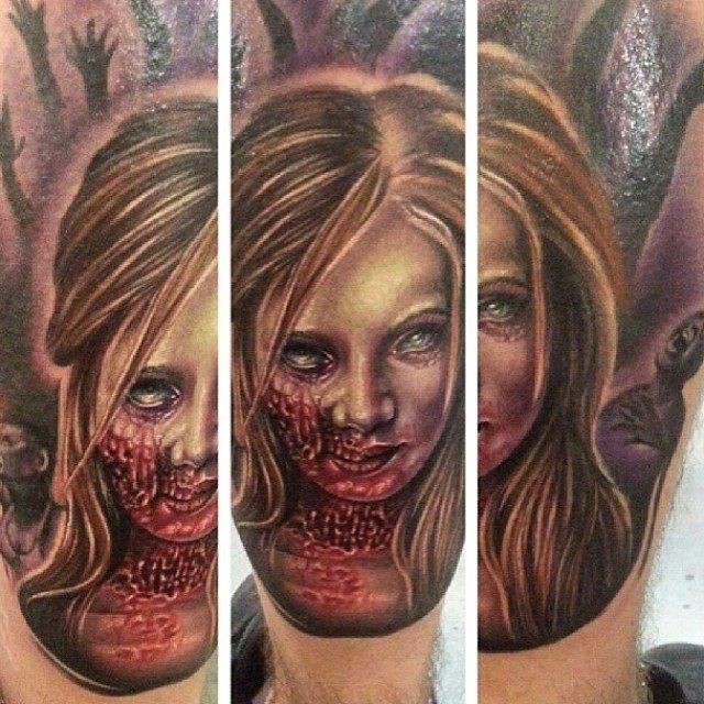 Австралийская выставка Tattoo and Body Art Expo в Instagram-фотографиях её участников. Изображение № 3.