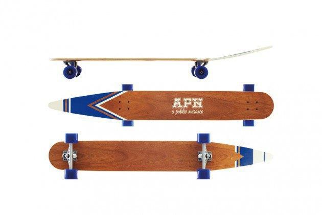 Бренд A Public Nuisance представил лонгборды, вдохновлённые водными лыжами. Изображение № 2.