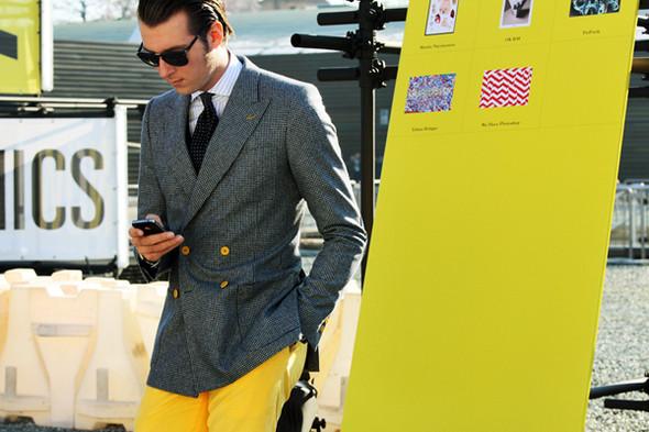 Итоги Pitti Uomo: 10 трендов будущей весны, репортажи и новые коллекции на выставке мужской одежды. Изображение № 138.