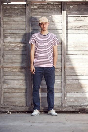 Марка Obey выпустила лукбук весенней коллекции одежды. Изображение № 21.