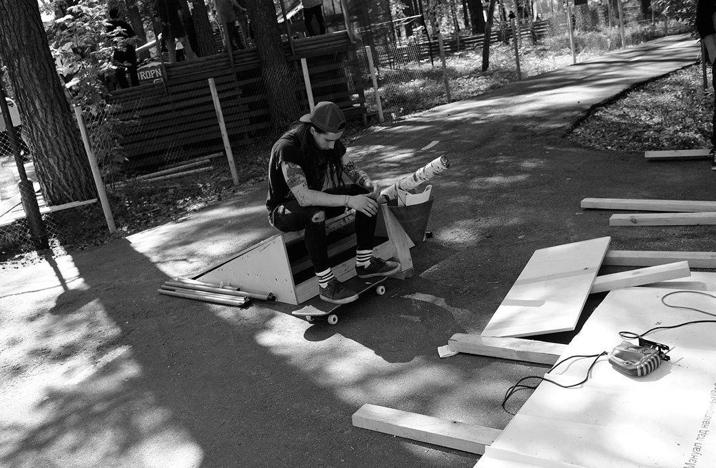 Фотоблог скейтера: Алексей Лапин о скейт-лагере в Сибири. Изображение № 11.
