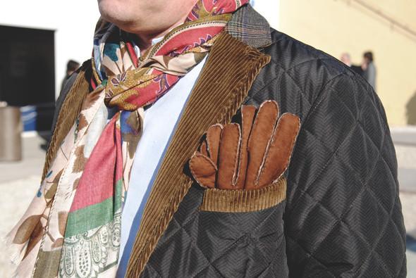 Детали: Репортаж с выставки мужской одежды Pitti Uomo. День первый. Изображение № 43.