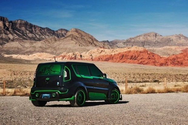 Kia показала пять из восьми «супергеройских» автомобилей. Изображение № 22.