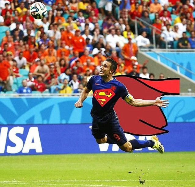Летучий голландец: Робин ван Перси как новый интернет-мем. Изображение № 5.
