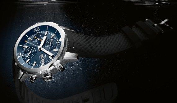 Марка IWC выпустила часы для дайверов в честь Жак-Ива Кусто. Изображение № 3.
