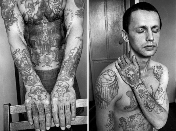 Как советские тюремные наколки стали фетишем на Западе. Изображение №3.