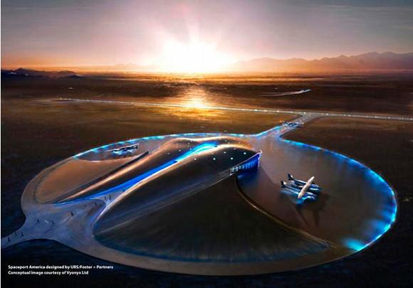 В Нью-Мексико построен первый в мире частный космопорт. Изображение № 5.