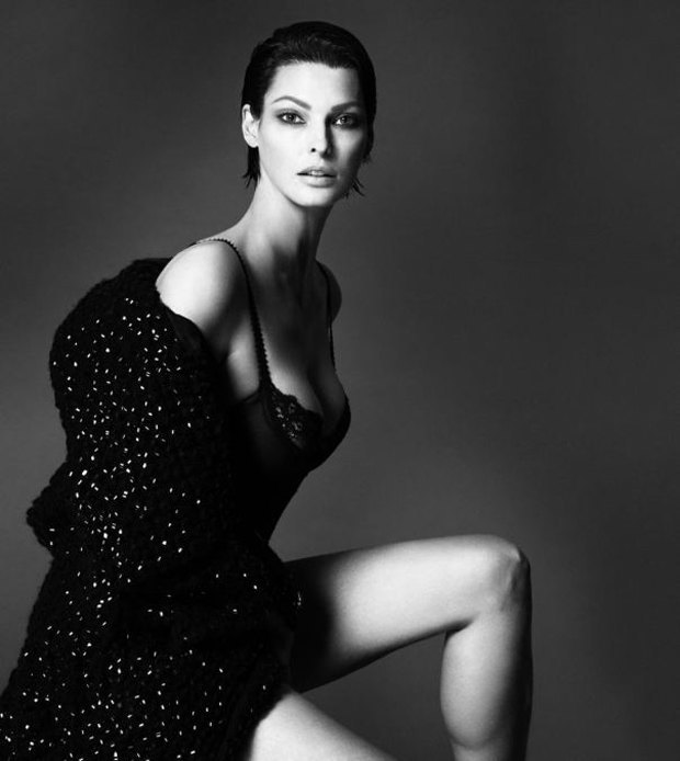 Аня Рубик, Наоми Кэмпбелл и другие известные модели разделись для Interview Magazine. Изображение № 13.