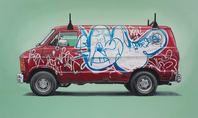 Кевин Сир: Граффити на фургонах как символ города. Изображение № 9.