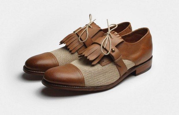 Марка Grenson выпустила весеннюю коллекцию обуви. Изображение № 25.