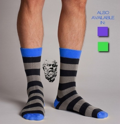 Американец создал неизнашиваемые носки из кевлара. Изображение № 5.