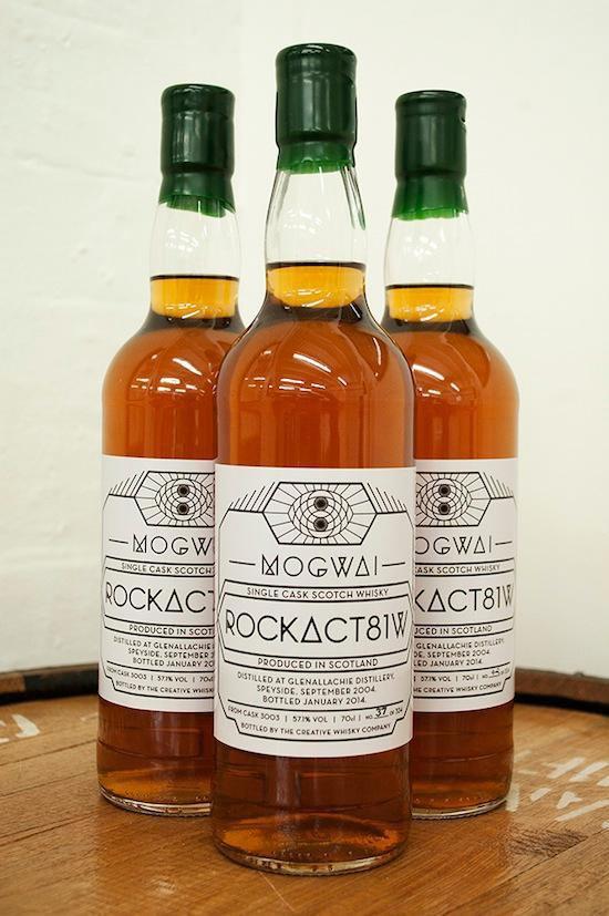 Группа Mogwai выпустила собственный виски RockAct81w. Изображение № 1.