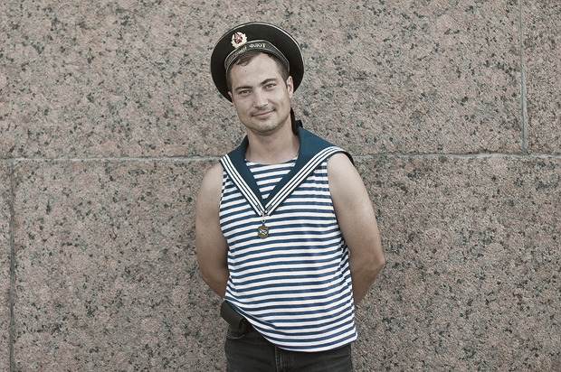 Детали: Моряки и корабли на Дне ВМФ в Санкт-Петербурге. Изображение № 3.