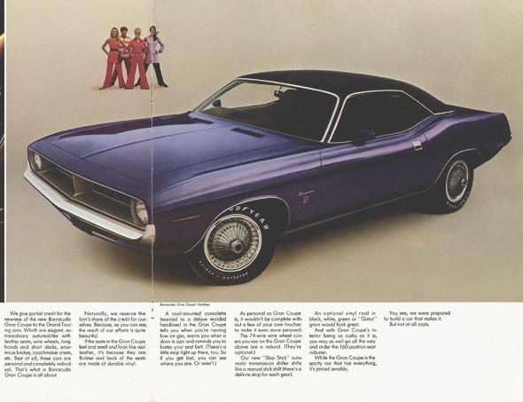 Компания Chrysler перевыпустит культовый маслкар Plymouth Barracuda. Изображение № 4.