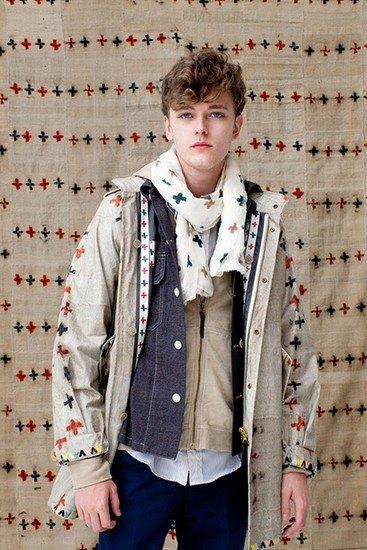 Японская марка Visvim опубликовала лукбук весенней коллекции одежды. Изображение № 3.