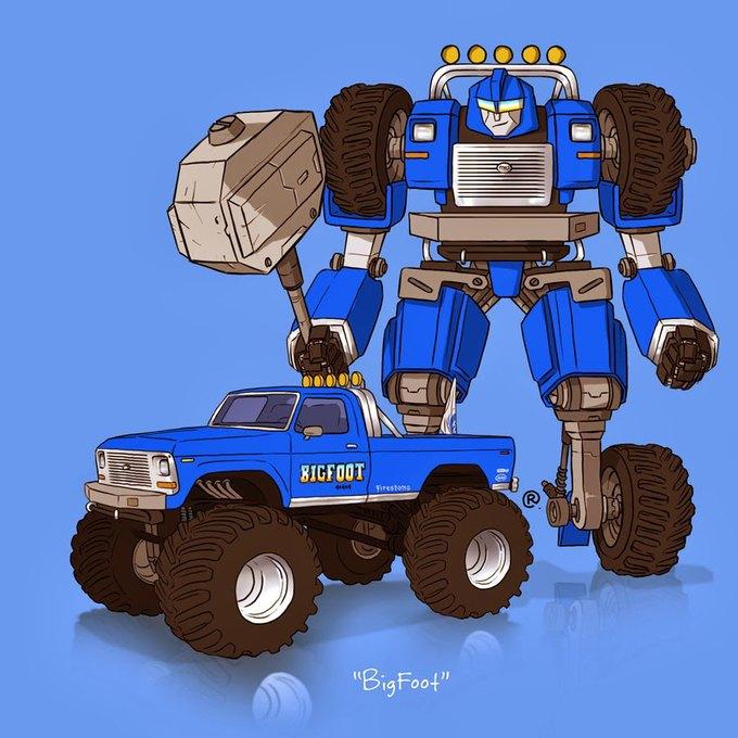 Даррен Роулингс: Если бы машины из культовых фильмов были трансформерами. Изображение № 3.