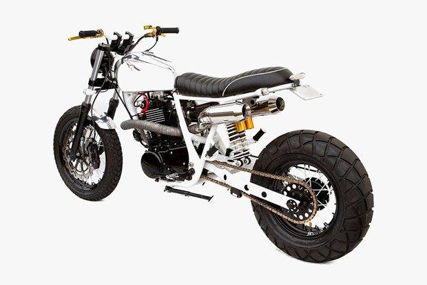 Мастерская Deus Ex Machina представила кастом на базе Yamaha SR400 . Изображение № 3.