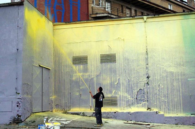 «Если я рисую, то не иду на компромиссы»: интервью с граффити-художником Кринком. Изображение № 6.