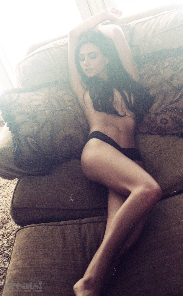 Модель Эми Мариетта снялась обнаженной для журнала Treats. Изображение № 7.