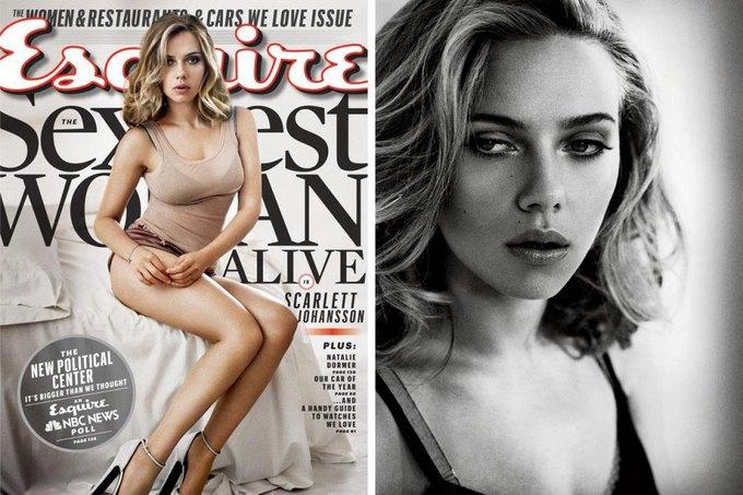 Американский Esquire назвал Скарлетт Йоханссон самой сексуальной девушкой года. Изображение № 5.