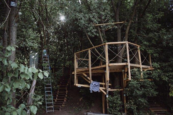 Фоторепортаж: Строительство объектов фестиваля Outline. Изображение № 33.