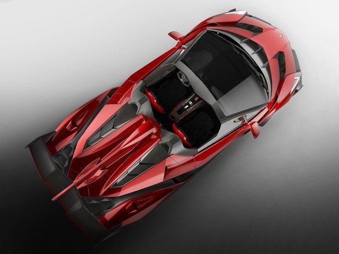 Lamborghini представили новый родстер Veneno. Изображение № 6.