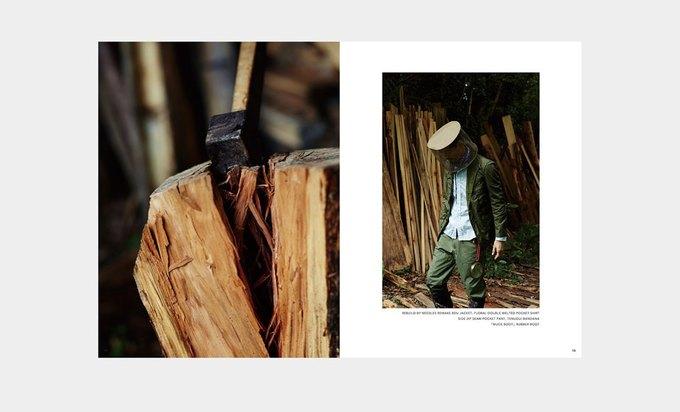 Марка Nepenthes опубликовала лукбук новой коллекции Needles. Изображение № 6.