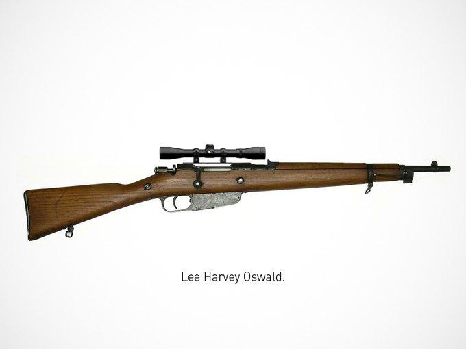 Итальянский дизайнер представил коллекцию плакатов знаменитого оружия. Изображение № 5.