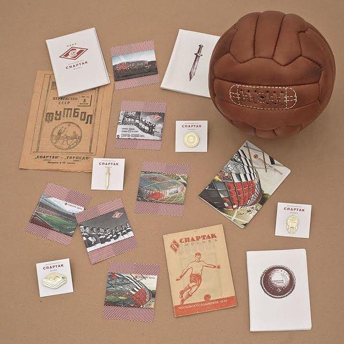 Heart of Moscow создали коллекцию к открытию стадиона «Спартак». Изображение № 1.