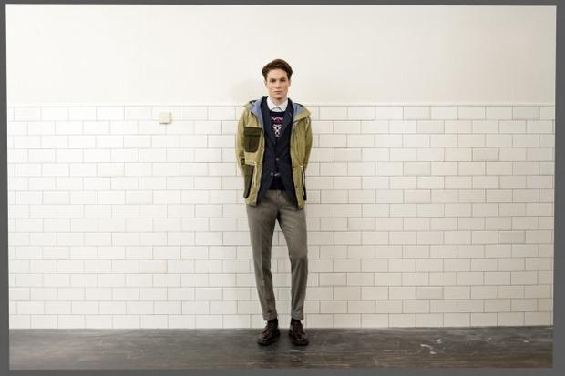 Марка Gant Rugger опубликовала второй лукбук осенней коллекции одежды. Изображение № 9.
