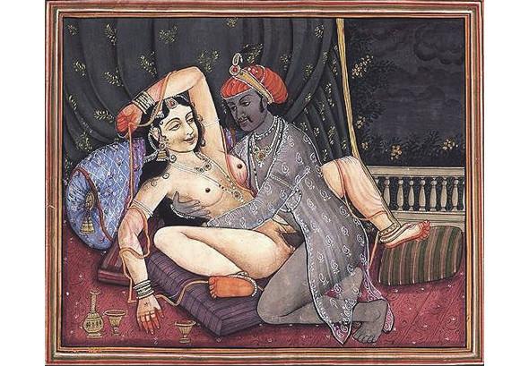 Одна из иллюстраций Камасутры. Изображение № 4.