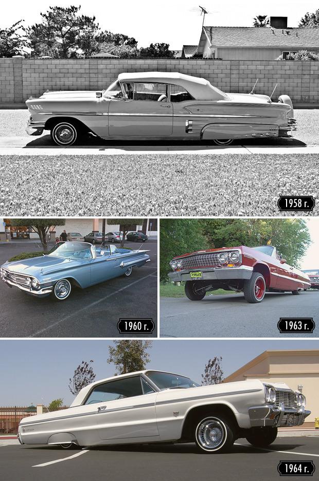Низкий старт: Как Chevrolet Impala стала главной звездой лоурайдеров. Изображение № 6.