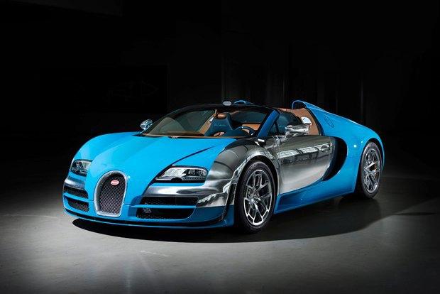 Bugatti представили новый суперкар, созданный в честь гонщика Meo Костантини. Изображение № 1.