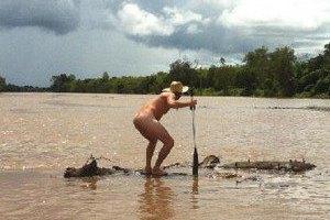 Французский матрос подрался с крокодилом у берегов Австралии. Изображение № 5.