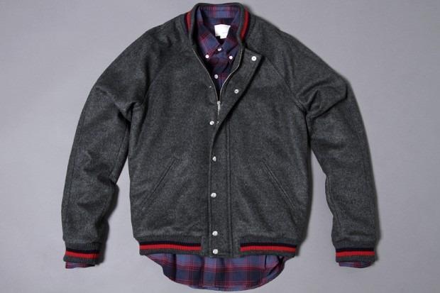 Американская марка Band of Outsiders представила осеннюю коллекцию одежды. Изображение № 2.