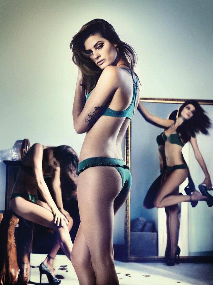 Бразильская модель Изабели Фонтана снялась в рекламе нижнего белья UNI Lingerie. Изображение № 4.