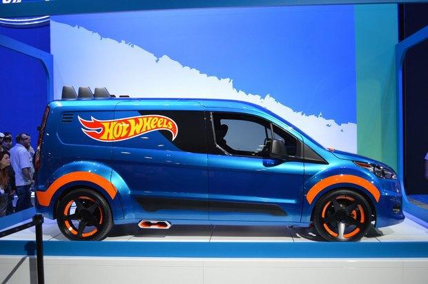 Ford превратил игрушечную машинку в полноразмерный концепт. Изображение № 2.