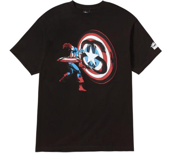 Изображение 3. Совместная коллекция стритовой марки Stussy и комиксов Marvel.. Изображение № 1.