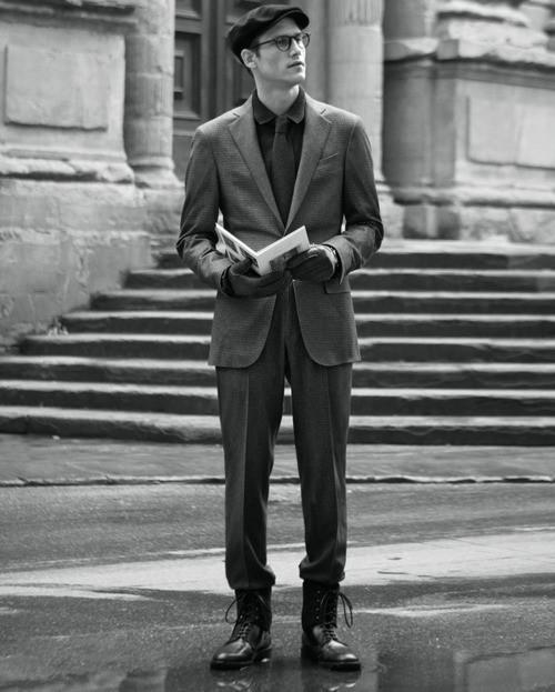 Изображение 12. Men's Digest: платки от Канье Уэста, флорентийская мода и фильм о гонщике-рекордсмене.. Изображение № 12.
