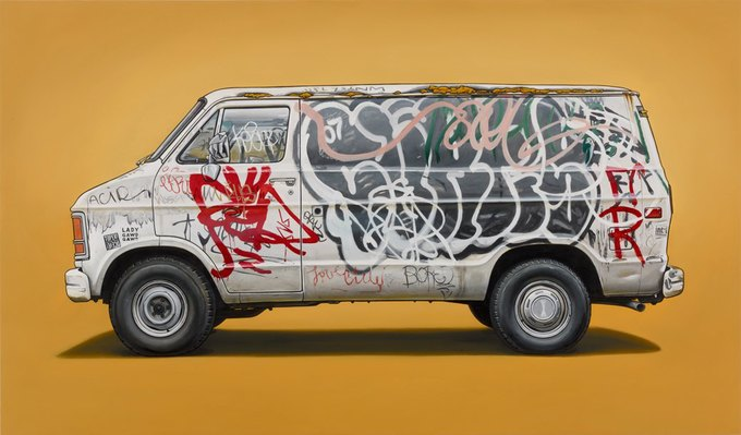 Кевин Сир: Граффити на фургонах как символ города. Изображение № 8.