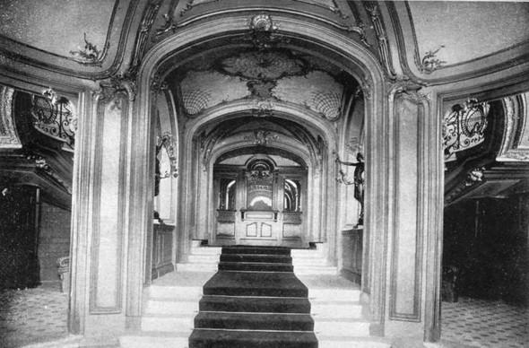 Сандуновские бани, 1895-1896 год. Изображение № 3.