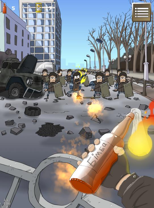 На Android вышла игра про Майдан. Изображение № 1.