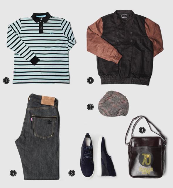 Соберись, тряпка: 8 осенних луков московских магазинов мужской одежды. Изображение № 25.