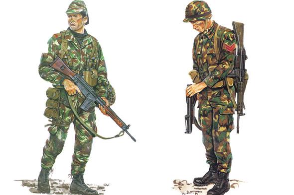 Португальская и турецкая военная форма, конец восьмидесятых. Изображение № 4.